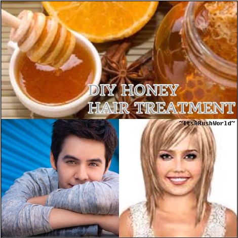 DIY HONEY HAIR TREATMENT